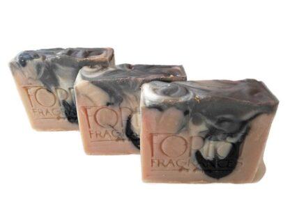 forestf fragrances - natuurlijke zeep - manly - houtskool - citrus - lavendel - amber