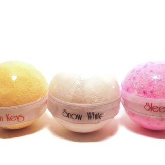 forest fragrances - bath body - bath bomb - set