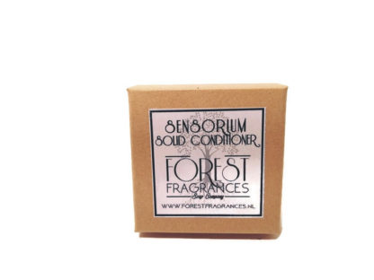 forest fragrances - hair care - conditioner - sensorium - boxed