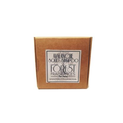 forest fragrances - hair care - solid shampoo - avalanche - boxed