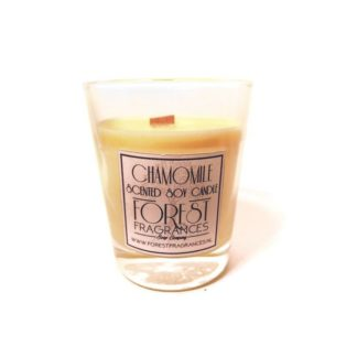 forest fragrances - home fragrances - candle - chamomile - single