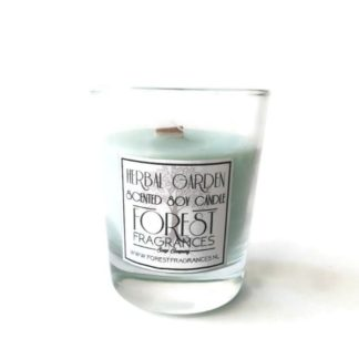 forest fragrances - home fragrances - soy candles - herbal garden - single