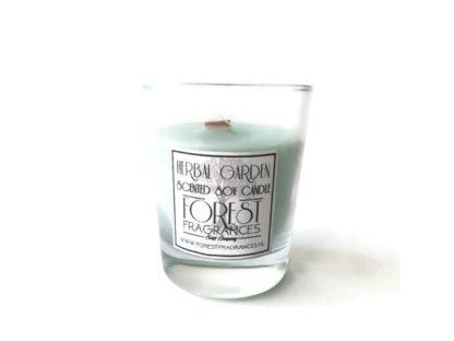 forest fragrances - home fragrances - soy candles - herbal garden - single