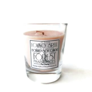 forest fragrances - home fragrances - soy candles - loving spell - single