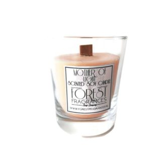 forest fragrances - home fragrances - soy candles - mother of light - single