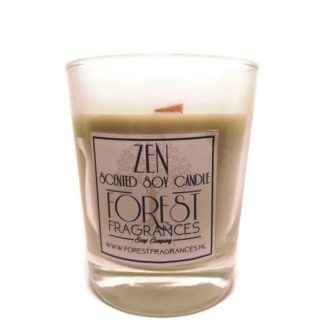 forest fragrances - home fragrances - soy candles - the zen - single