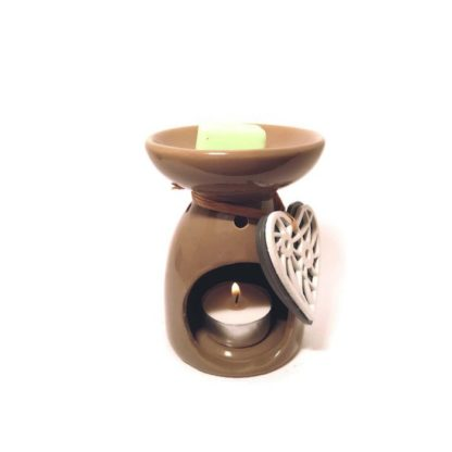 forest fragrances - home fragrances - waxmelts - light green - burner