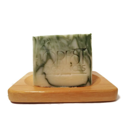forest fragrances - soaps - body - green - dish