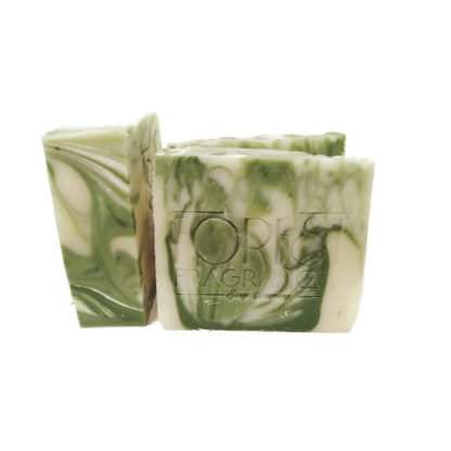 forest fragrances - soaps - body - green - side