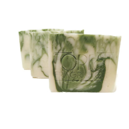 forest fragrances - soaps - body - green - three