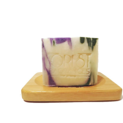 forest fragrances - soaps - body - relaxing - dish