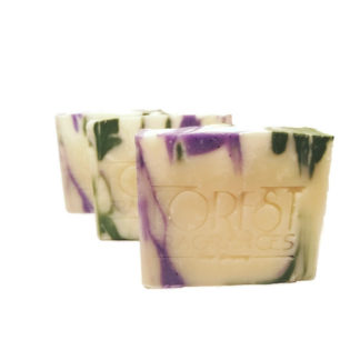 forest fragrances - soaps - body - relaxing - three