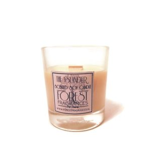forest fragrances - home fragrances - soy candles - the islander - single