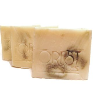 forest fragrances - hair care - solid shampoo - cucumber calendula - three