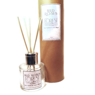forest fragrances - home fragrances - reed diffuser - wild roses - one