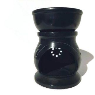 forest fragrances - accessoires - oliebrander - zeepsteen - zwartfront