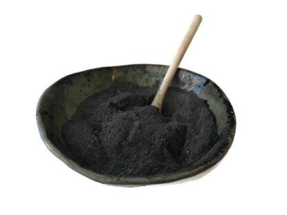 forestfragrances-bath-body-klei masker -houtskool en saffloer -bowl