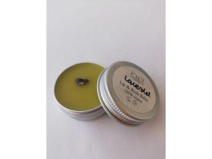forest fragrances - bath & body - vegan lippenbalsem en body balsem - lavendel