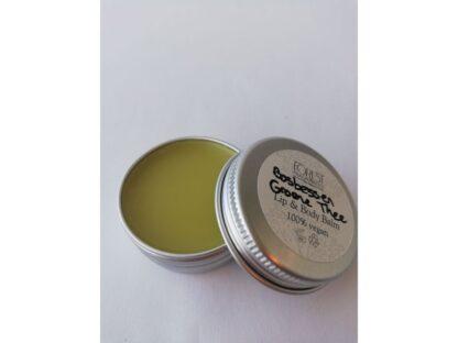 forest fragrances - bath & body - vegan lippenbalsem en body balsem - bosbessen groene thee