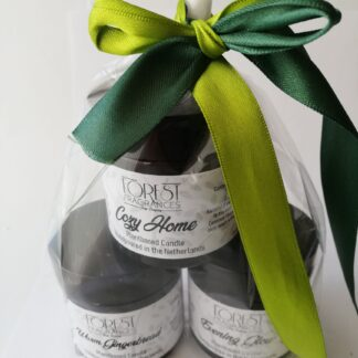 forest fragrances - home fragrances - plantaardige geurkaars - seasonal collection - geurkaarsen - cadeausetje