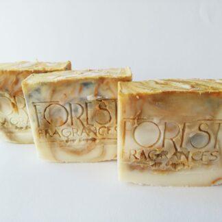 forest fragrances - zeep - kruidenzeep - patchouli citronella litsea -
