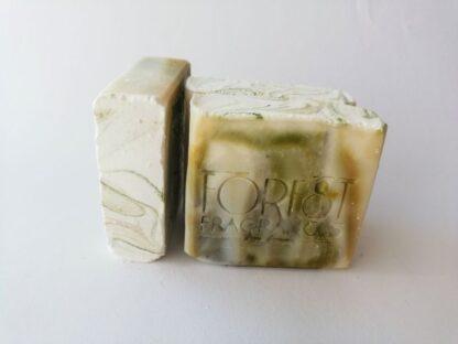 forest fragrances - zeep - kruidenzeep - spar kajeput kruiden zeep -side