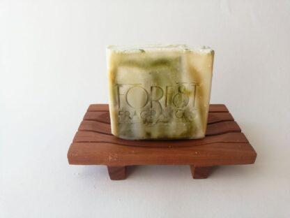 forest fragrances - zeep - kruidenzeep - spar kajeput kruiden zeep - zeepschaaltje