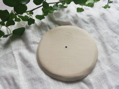 forest fragrances - accessoires - zeepschaaltje - keramiek - rond - glanzend - groen - onderkant