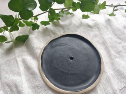 forest fragrances - accessoires - zeepschaaltje - keramiek - rond - mat zwart