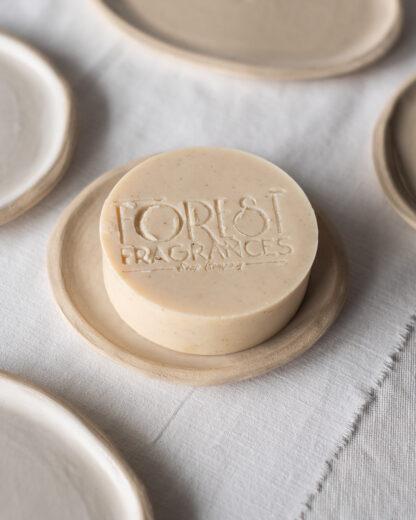 forest fragrances - accessoires - zeepschaaltje - keramiek - rond - nude