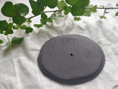 forest fragrances - accessoires - zeepschaaltje - ovaal - mat - wit - onderkant