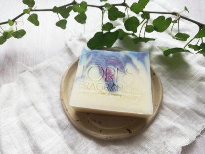 forest fragrances - accessoires - zeepschaaltje - rond - met zeep