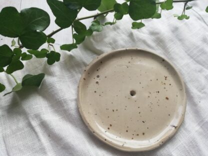 forest fragrances - accessoires - zeepschaaltje - rond - spikkels