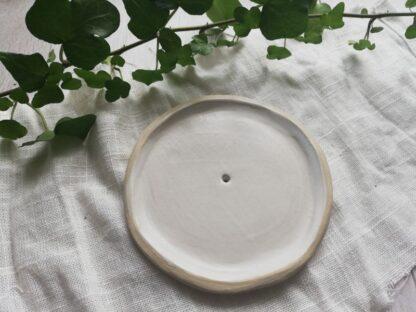 forest fragrances - accessoires - zeepschaaltje - rond - wit mat