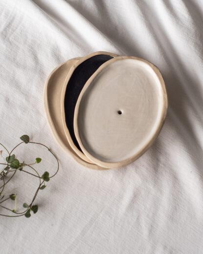 forest fragrances - accessoires - zeepschaaltjes - keramiek - ovaal - assorti
