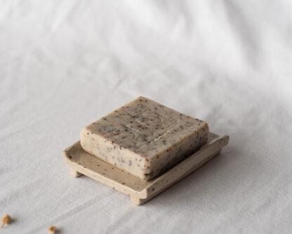 forest fragrances - accessoires - zeepschaaltjes - keramiek - rechthoek - glanzend - spikkels