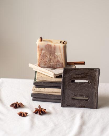 forest fragrances - accessoires - zeepschaaltjes - rechthoekig - keramiek - assorti