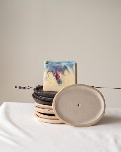 forest fragrances - zeepschaaltjes - keramiek - ovaall - sfeerfoto